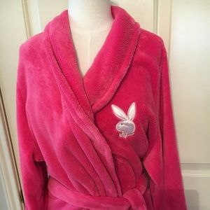 Cozy playboy playmate of the year robe!